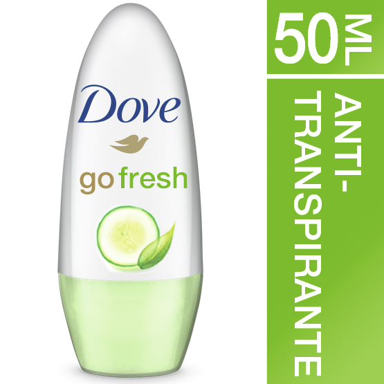 Dove desodorante roll on fresh sin alcohol envase de 50ml.