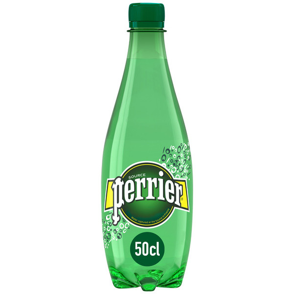 Perrier agua con gas de 50cl. en botella