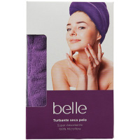 Belle toalla turbante seca pelo &accessorise