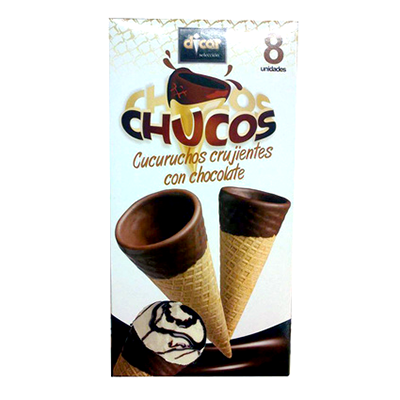 Dicar barquillo cucurucho chocolate helado *verano* 8 de 125g.
