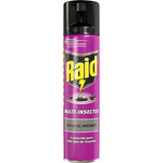 Raid insecticida multi insectos agradable fragancia de 30cl. en spray