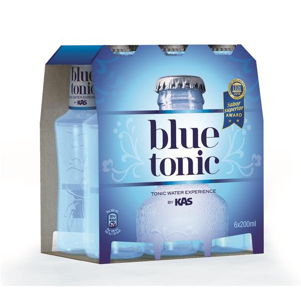 Blue Tonic blue tonic pack no retornable 200 ml de 20cl. por 6 unidades en botella