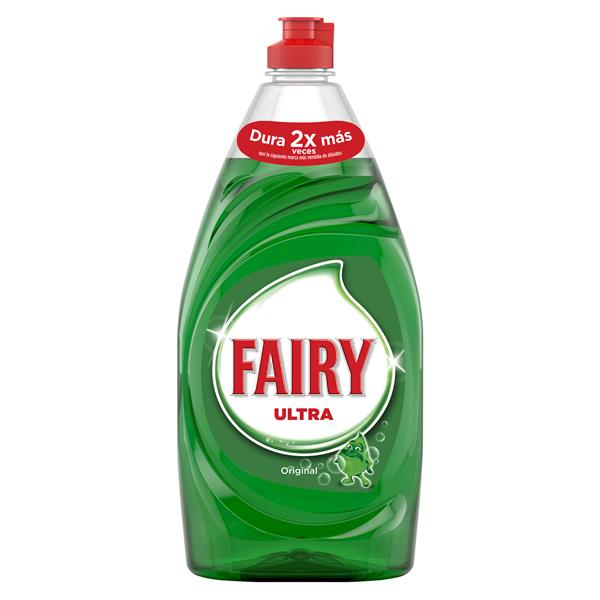 Fairy ultra lavavajillas mano concentrado regular de 78cl. en botella