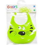 Tigex colors babero silicona animales en colores surtidos 6 meses blister