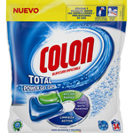 Colon total power gel caps detergente maquina liqudo universal envase 34