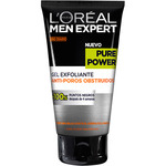 L'oreal Men hombre expert pure power gel exfoliante antiporos obstruidos tubo de 15cl.