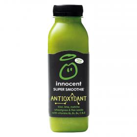 Innocent smoothie antioxidante kiwi lima matcha de 36cl.