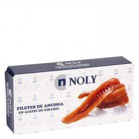 Noly filetes anchoa en aceite vegetal de 45g.