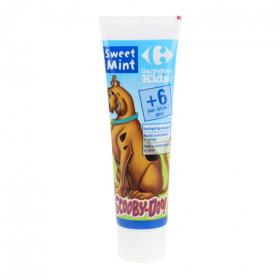 Carrefour Kids dentifrico sweet mint 6 de 50ml.