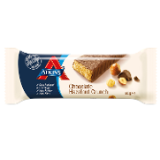 Atkins advantage barrita snacks chocolate avellanas envase de 60g.