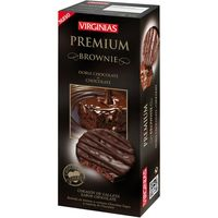 Virginias galleta premium brownie de 120g. en caja