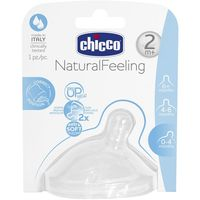 Chicco tetina step up new flujo medio de 2m.