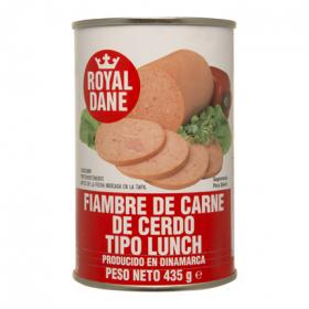 Royal carne tipo lunch dane de 435g.