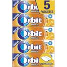 Orbit chicle grageas naranja p5 en paquete