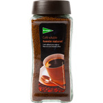 El Corte Ingles cafe soluble tueste natural de 200g. en bote