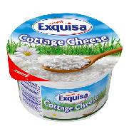 Exquisa queso fresco cottage cheese de 200g.