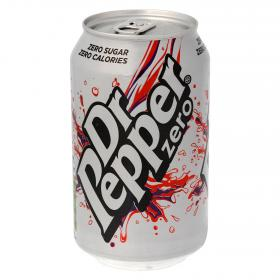 Dr Pepper refresco zero de 33cl.