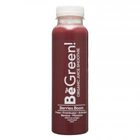 Smoothie berry boom bio be green de 30cl.