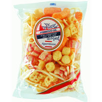 Snacks tutty de 100g.