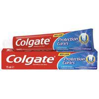 Colgate crema dental blanca de 75ml.