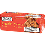 Crown english crackers de 200g. en paquete