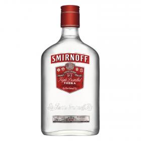 Smirnoff vodka red petaca de 35cl.