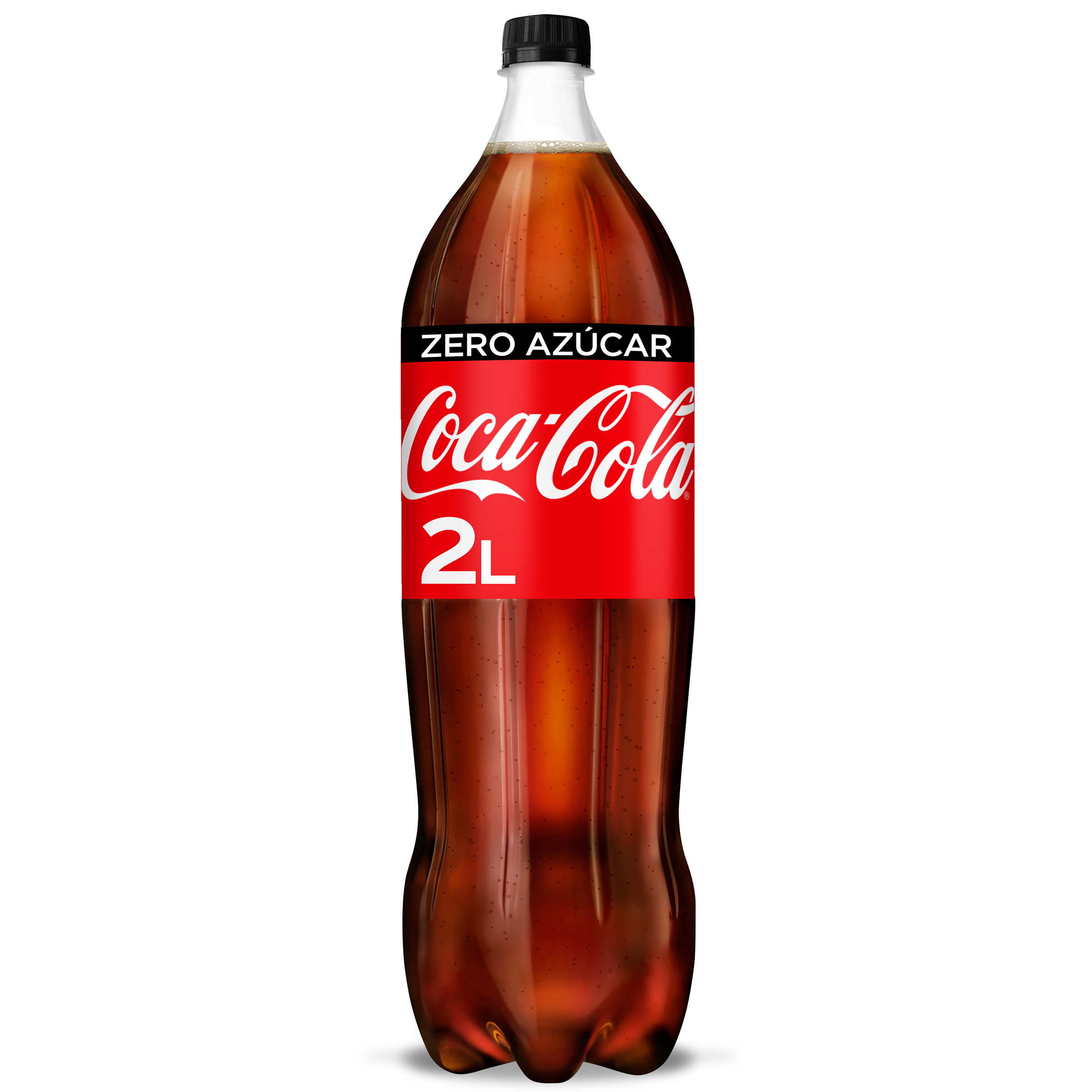 Coca Cola zero pet de 2l. en botella