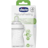 Chicco biberon step up new de 25cl. de 4m.