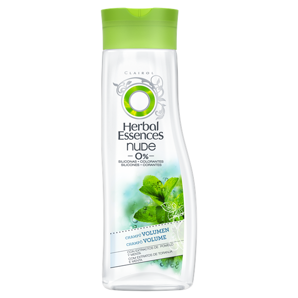 Herbal Essences champu con extracto pomelo menta cabello fino con poco volumen de 40cl.