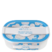 Carrefour helado en crema yogur natural de 90cl.