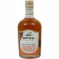 Suau brandy solera reserva orange de 70cl.