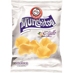 Munchitos munchitos snack patata sabor al ajillo de 70g. en bolsa