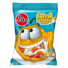 Fritos gominolas huevos jake de 100g.