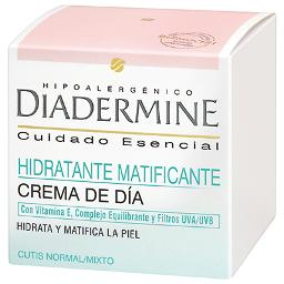 Diadermine crema hidratante piel normal mixta de 50ml.