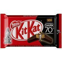 Kit Kat chocolate negro 70% lc tableta de 41,5g.