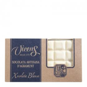 Vicens chocolate blanco estuche de 300g.