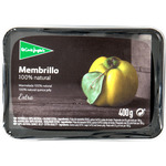 El Corte Ingles membrillo 100% natural extra envase de 400g.