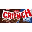Nestlé Crunch chocolate negro crunch tableta de 100g.