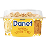 Danet natillas con crunchy cookie de 122g.