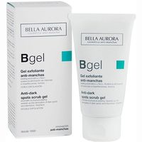 Bella Aurora gel exfoliante antimanchas tubo de 75ml.