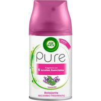Air Wick recambio fresh matic pure relajante lavanda de 25cl.
