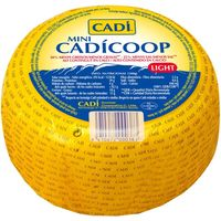 Cadicoop queso mini light de 900g.