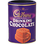 Cadbury drinking chocolate de 500g. en bote