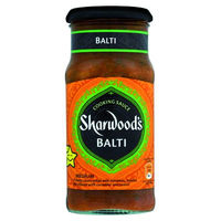 Sharwood's salsa balti de 420g.