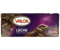 Valor chocolate puro con leche de 300g.