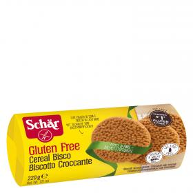 Schar galleta cereal bisco sin gluten de 220g.