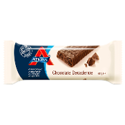 Atkins advantage barrita snacks chocolate negro envase de 60g.