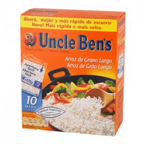 Uncle Bens arroz largo de 500g. en bolsa