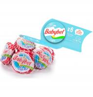 Babybel queso mini light de 120g. por 6 unidades