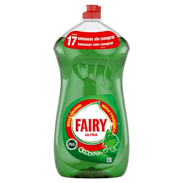 Fairy ultra lavavajillas mano concentrado regular de 1,19l. en botella